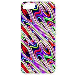 Multi Color Wave Abstract Pattern Apple Iphone 5 Classic Hardshell Case