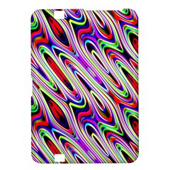 Multi Color Wave Abstract Pattern Kindle Fire HD 8.9
