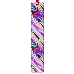 Multi Color Wave Abstract Pattern Large Book Marks