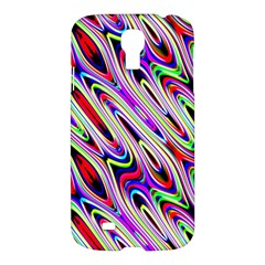 Multi Color Wave Abstract Pattern Samsung Galaxy S4 I9500/i9505 Hardshell Case
