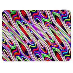 Multi Color Wave Abstract Pattern Samsung Galaxy Tab 7  P1000 Flip Case
