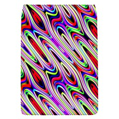 Multi Color Wave Abstract Pattern Flap Covers (S)