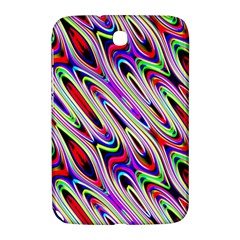Multi Color Wave Abstract Pattern Samsung Galaxy Note 8 0 N5100 Hardshell Case