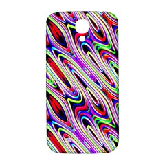 Multi Color Wave Abstract Pattern Samsung Galaxy S4 I9500/I9505  Hardshell Back Case