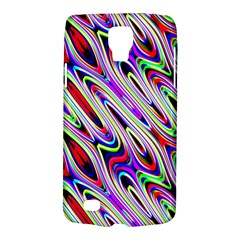 Multi Color Wave Abstract Pattern Galaxy S4 Active