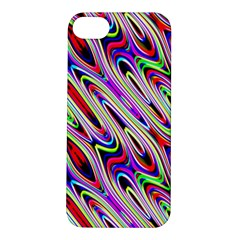 Multi Color Wave Abstract Pattern Apple iPhone 5S/ SE Hardshell Case