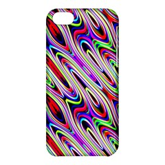 Multi Color Wave Abstract Pattern Apple iPhone 5C Hardshell Case