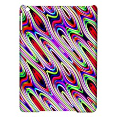 Multi Color Wave Abstract Pattern iPad Air Hardshell Cases