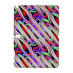 Multi Color Wave Abstract Pattern Galaxy Note 1