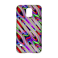 Multi Color Wave Abstract Pattern Samsung Galaxy S5 Hardshell Case