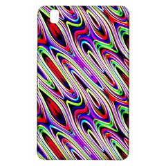 Multi Color Wave Abstract Pattern Samsung Galaxy Tab Pro 8.4 Hardshell Case