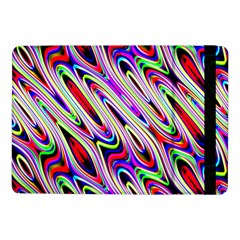 Multi Color Wave Abstract Pattern Samsung Galaxy Tab Pro 10.1  Flip Case