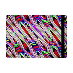 Multi Color Wave Abstract Pattern Ipad Mini 2 Flip Cases