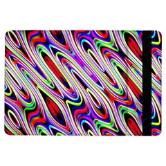 Multi Color Wave Abstract Pattern iPad Air Flip