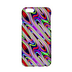 Multi Color Wave Abstract Pattern Apple iPhone 6/6S Hardshell Case