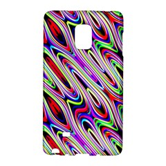 Multi Color Wave Abstract Pattern Galaxy Note Edge