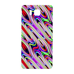 Multi Color Wave Abstract Pattern Samsung Galaxy Alpha Hardshell Back Case
