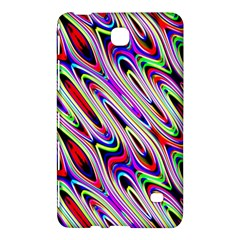 Multi Color Wave Abstract Pattern Samsung Galaxy Tab 4 (7 ) Hardshell Case