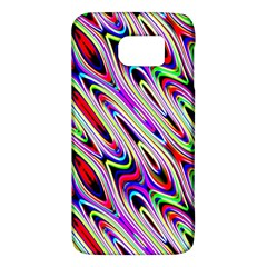 Multi Color Wave Abstract Pattern Galaxy S6