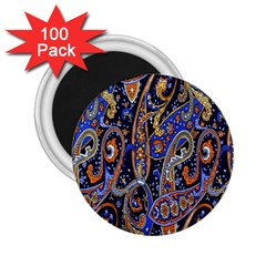 Pattern Color Design Texture 2 25  Magnets (100 Pack)