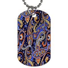 Pattern Color Design Texture Dog Tag (One Side)