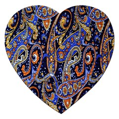 Pattern Color Design Texture Jigsaw Puzzle (Heart)