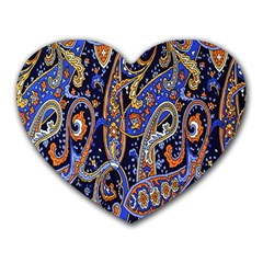 Pattern Color Design Texture Heart Mousepads