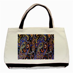 Pattern Color Design Texture Basic Tote Bag (Two Sides)