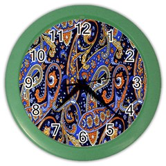 Pattern Color Design Texture Color Wall Clocks