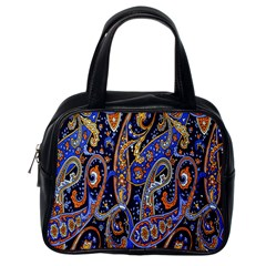 Pattern Color Design Texture Classic Handbags (one Side)