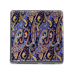 Pattern Color Design Texture Memory Card Reader (Square)