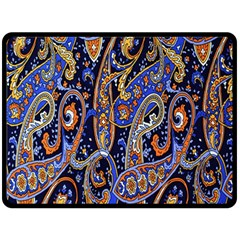 Pattern Color Design Texture Fleece Blanket (large)