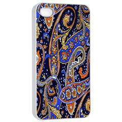 Pattern Color Design Texture Apple Iphone 4/4s Seamless Case (white)