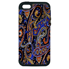 Pattern Color Design Texture Apple iPhone 5 Hardshell Case (PC+Silicone)