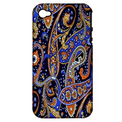 Pattern Color Design Texture Apple iPhone 4/4S Hardshell Case (PC+Silicone)