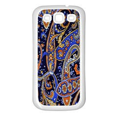 Pattern Color Design Texture Samsung Galaxy S3 Back Case (White)