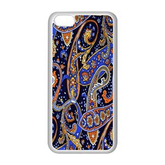 Pattern Color Design Texture Apple iPhone 5C Seamless Case (White)