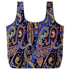 Pattern Color Design Texture Full Print Recycle Bags (L)