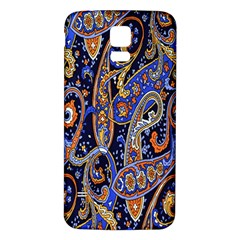Pattern Color Design Texture Samsung Galaxy S5 Back Case (white)