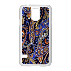 Pattern Color Design Texture Samsung Galaxy S5 Case (White)