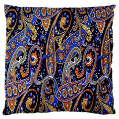 Pattern Color Design Texture Large Flano Cushion Case (two Sides)