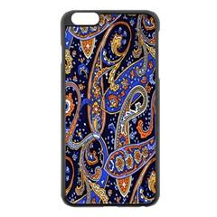 Pattern Color Design Texture Apple iPhone 6 Plus/6S Plus Black Enamel Case