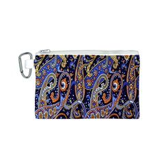 Pattern Color Design Texture Canvas Cosmetic Bag (S)