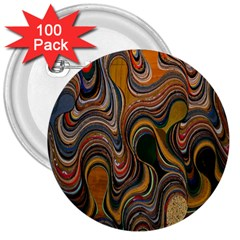 Swirl Colour Design Color Texture 3  Buttons (100 Pack)