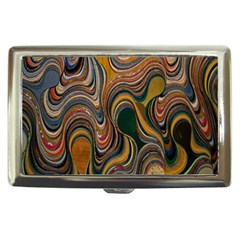 Swirl Colour Design Color Texture Cigarette Money Cases