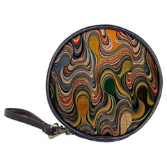 Swirl Colour Design Color Texture Classic 20 Cd Wallets