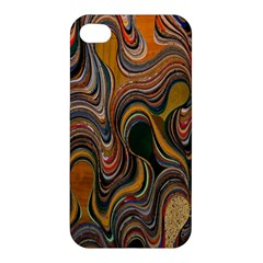 Swirl Colour Design Color Texture Apple Iphone 4/4s Hardshell Case
