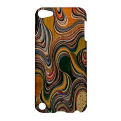 Swirl Colour Design Color Texture Apple iPod Touch 5 Hardshell Case