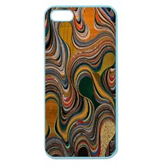 Swirl Colour Design Color Texture Apple Seamless iPhone 5 Case (Color)