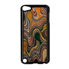 Swirl Colour Design Color Texture Apple Ipod Touch 5 Case (black)
